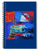 Spaceship Earth Spiral Notebook