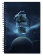 Spaceship Spiral Notebook