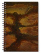 Spacestorm Spiral Notebook
