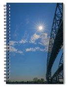 Spacious Skies Spiral Notebook