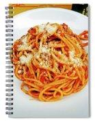 Spaghetti Bolognese Spiral Notebook