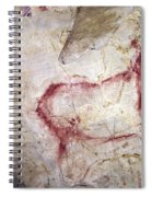 Spain: Cave Painting Spiral Notebook