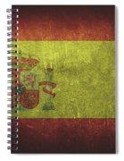 Spain Distressed Flag Dehner Spiral Notebook