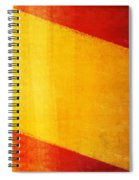 Spain Flag Spiral Notebook
