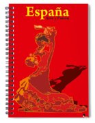 Spain Reed  Spiral Notebook
