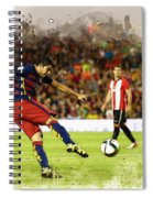 Spain Spanish Super Cup Spiral Notebook