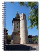 Spalentor In Basel Switzerland Spiral Notebook