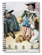 Spanish-american War, 1896 Spiral Notebook