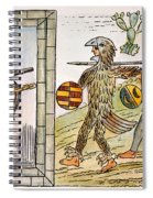 Spanish Conquest, 1520 Spiral Notebook