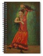 Spanish Dancer 2 Spiral Notebook
