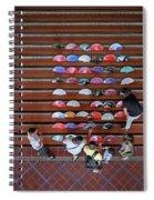 Spanish Fans Sale Spiral Notebook