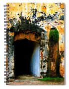 Spanish Fort Doorway Spiral Notebook