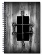 Spanish Fort Window Spiral Notebook