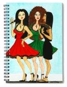 Spanish Girls Spiral Notebook