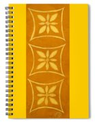 Spanish Gold Rectangle Spiral Notebook