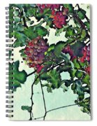 Spanish Grapes Spiral Notebook