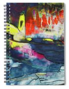 Spanish Harbour 01 Spiral Notebook