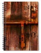 Spanish Latch Spiral Notebook