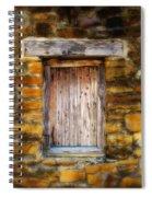 Spanish Mission Window Spiral Notebook