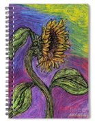 Spanish Sunflower Spiral Notebook