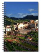 Spanish Terraces Spiral Notebook