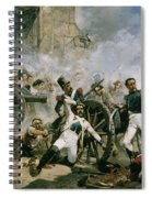 Spanish Uprising Against Napoleon In Spain Spiral Notebook
