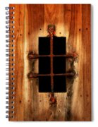 Spanish Window Detail Spiral Notebook