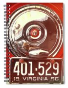 Spare Shine Spiral Notebook
