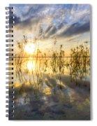 Sparkley Waters Spiral Notebook
