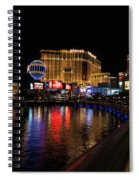 Sparkling Las Vegas Neon - Planet Hollywood Spiral Notebook