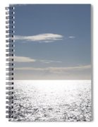 Sparkling Ocean Spiral Notebook