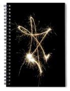 Sparkling Star II Spiral Notebook