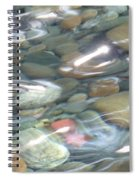 Sparkling Water On Rocky Creek 2 Spiral Notebook