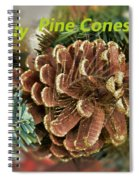 Sparkly Pine Cones For Your Tree  Spiral Notebook