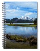 Sparks Lake, Oregon Spiral Notebook