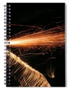 Sparks Will Fly Spiral Notebook