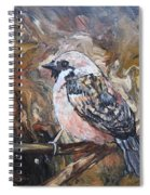 Sparrow Spiral Notebook
