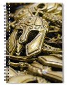Sparta Spiral Notebook