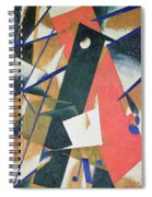 Spatial Force Construction Spiral Notebook
