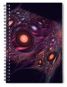 Spatial Rift Spiral Notebook