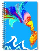 Speaking With Dolphins Spiral Notebook