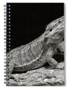 Speckled Iguana Lizard Spiral Notebook
