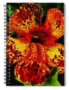 Speckled Petunia Spiral Notebook