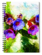 Speckled Trout The Flower Spiral Notebook