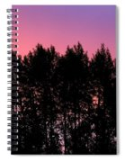 Spectacular Silhouette Spiral Notebook