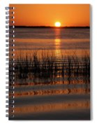 Spectacular Sunset Spiral Notebook