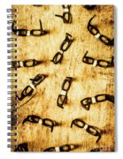 Spectating A Geeky Visual Spiral Notebook
