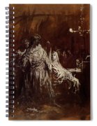 Spectrum Appearance Of Banquo Spiral Notebook