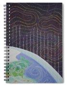Spectrum Earth Spacescape Spiral Notebook