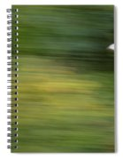 Speed In Flight Spiral Notebook